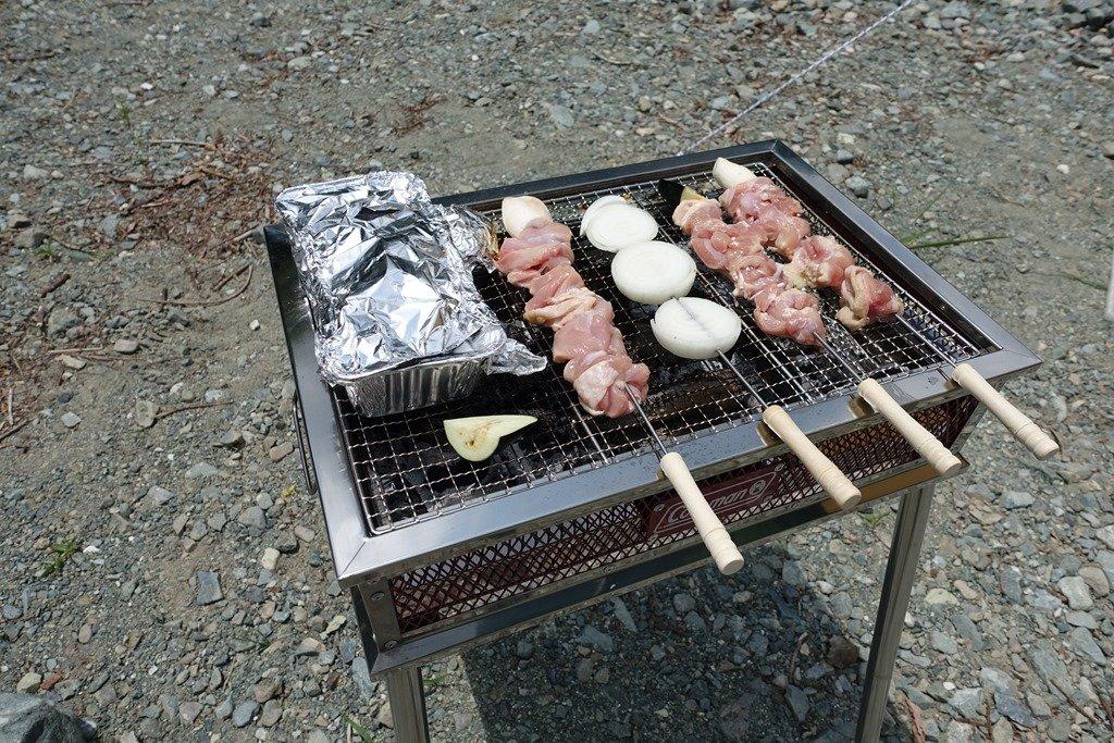 小田原で野外バーベキュー